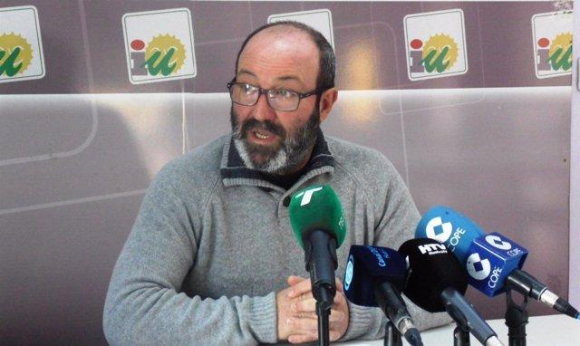 Pedro Jiménez portavoz de IU en Diputación