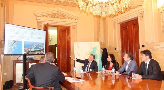 Reunión de trabajo con la Autoridad Portuaria de Málaga