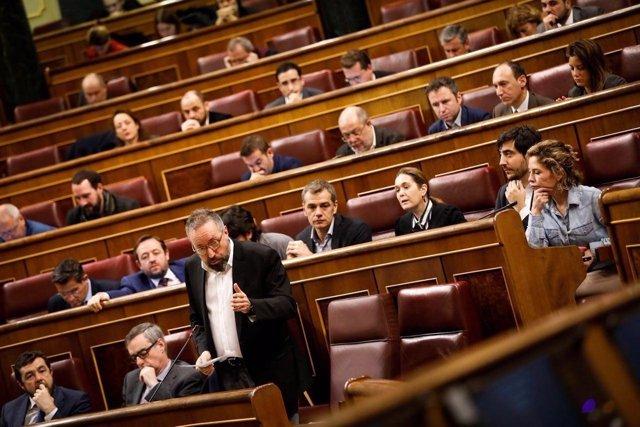 Juan Carlos Girauta y los diputados de Ciudadanos