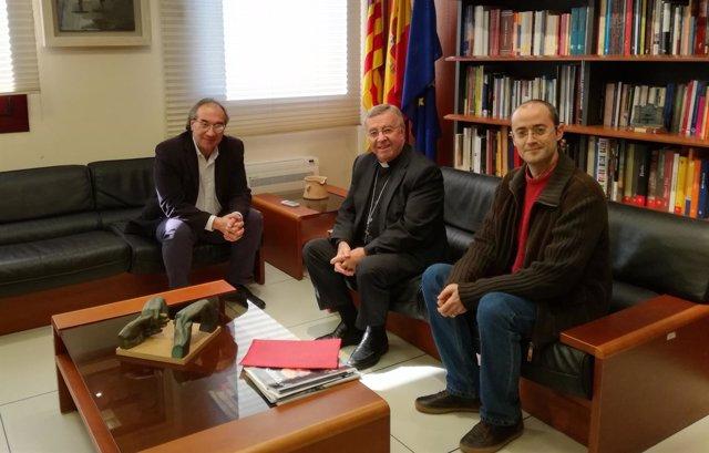 Reunión entre la Conselleria y el Obispado sobre los profesores de religión