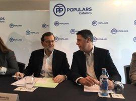 Rajoy arropará a Albiol en el congreso de PPC, con un ideario para recuperar votos de Cs y afianzar la operación diálogo