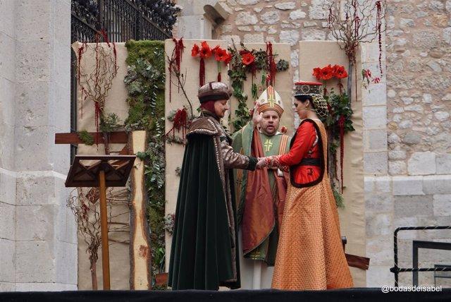 Recreación de las Bodas de Isabel de Segura en Teruel 2017