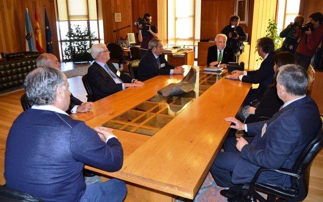 Anfaco-Cecopesca visita el Parlamento de Galicia