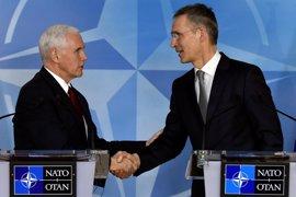 """Pence pide aliados progresos """"reales"""" para subir el gasto en defensa """"antes de final de 2017"""""""