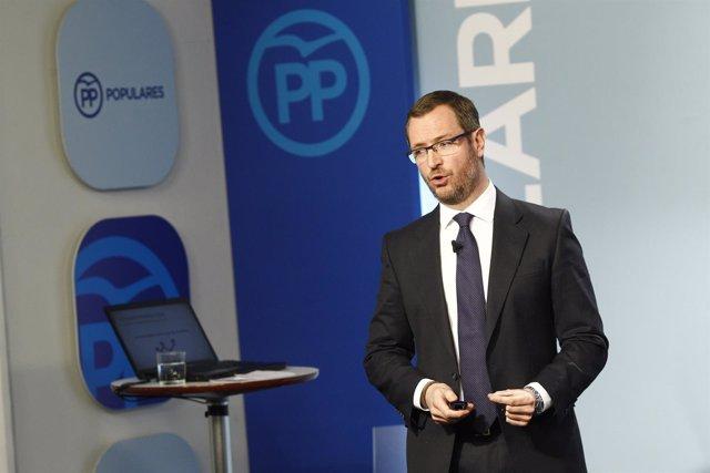 Javier Maroto presenta la Ponencia Social del Congreso Nacional del PP