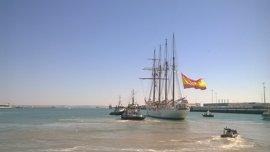 Confirman el procesamiento de los marineros por el tráfico de drogas en el 'Juan Sebastián Elcano'