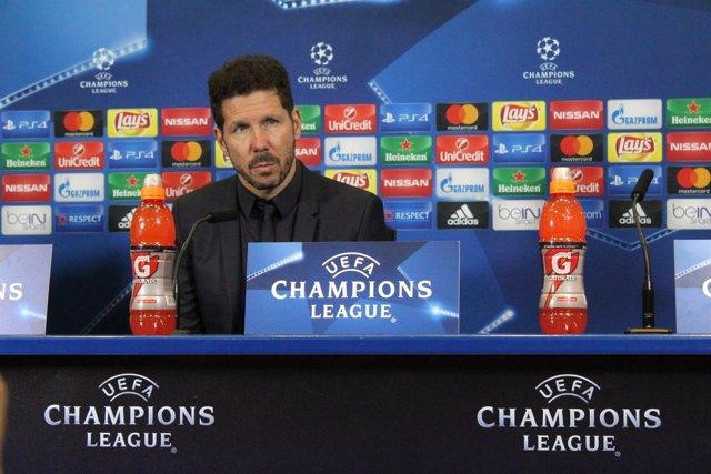 Diego Simeone en el Atlético de Madrid - PSV