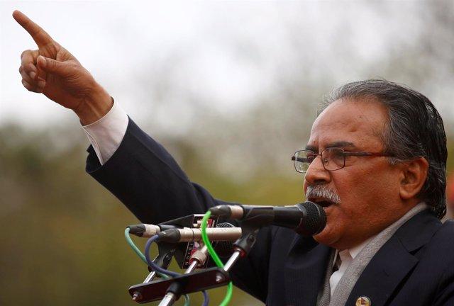 El primer ministro nepalí, el maoísta Pushpa Kamal Dahal