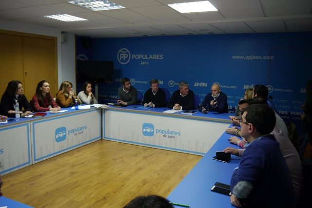 Consejo de Dirección del PP de Jaén.