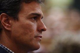 """Pedro Sánchez busca """"una gran alianza de fuerzas progresistas"""" para combatir las políticas de la derecha"""