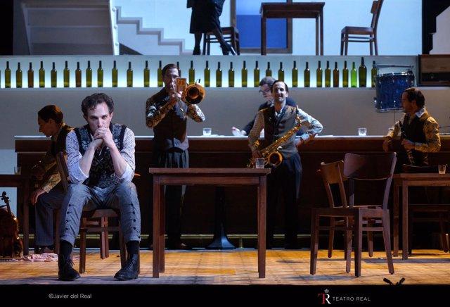 Estreno mundial de la ópera La ciudad de las mentiras, en el Teatro Real