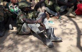 Al menos 65.000 niños han sido liberados de ejércitos y grupos armados en 10 años, según UNICEF