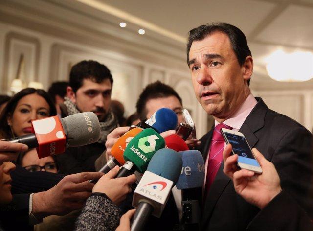 Declaraciones de Fernando Martínez Maíllo en los Desayunos de Europa Press