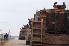 Las fuerzas turcas matan a 44 terroristas del Estado Islámico en Siria