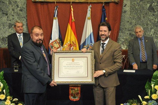 Nota De Prensa Y Fotografías: Jaime Azpilicueta Hijo Adoptivo