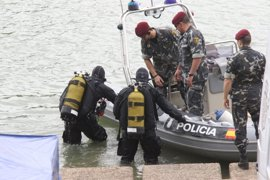 Los buzos de los GEO inician la segunda jornada de búsqueda de Marta en el Guadalquivir