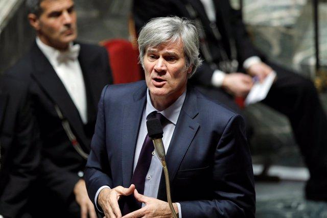 El ministro de Agricultura y portavoz del Gobierno francés, Stephane Le Foll.