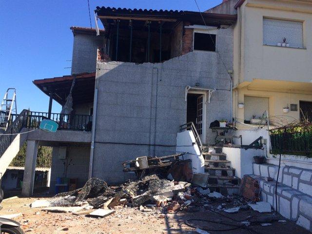 Explosión de Redondela (Pontevedra)