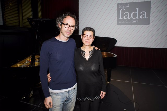 James Rhodes y Vicki Bernadet