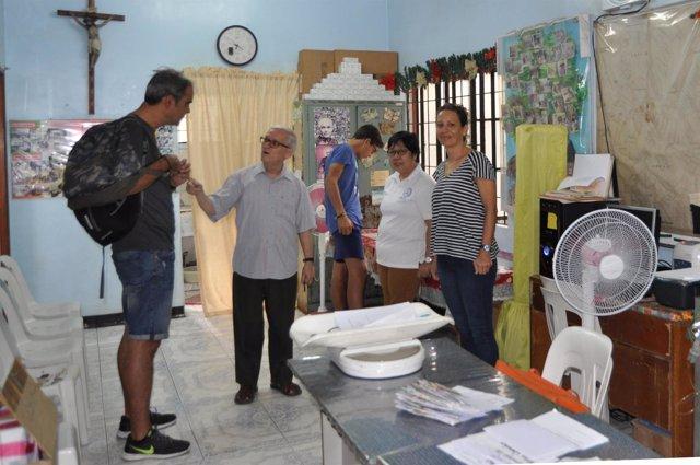 Fundación La Arruzafa comienza misión de cooperación en Filipinas