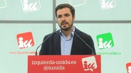 """Garzón ve """"precipitado"""" que se empiece a hablar de Errejón como candidato a la Comunidad de Madrid"""