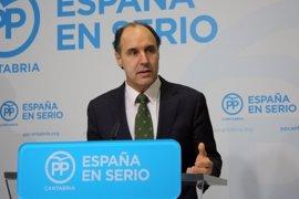 """Diego optará a reeleción como presidente del PP cántabro """"por última vez"""""""
