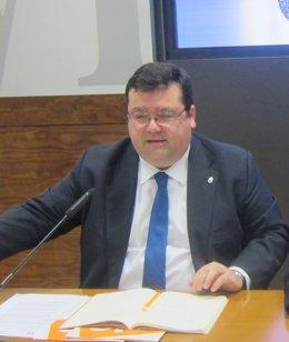 Luis Pacho, portavoz de Ciudadanos Oviedo.