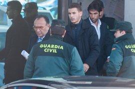 Lucas Hernández y su exnovia admiten que hubo un forcejeo por una discusión de celos