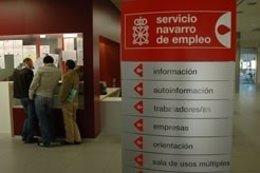 Oficina del Servicio Navarro de Empleo.