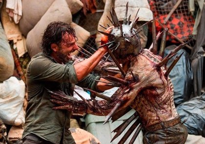 The Walking Dead: ¿Quién es Winslow, el 'zombie Mad Max' del 7x10?