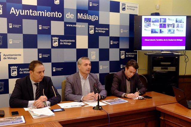 Presentación observatorio turístico de Málaga Andrade
