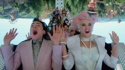 Katy Perry se adentra en un parque temático futurista en su nuevo vídeo: Chained to the Rhythm