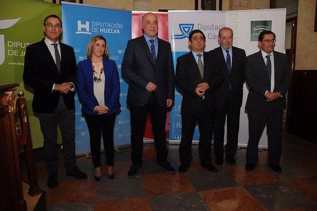 Presidentes de las diputaciones socialistas andaluzas