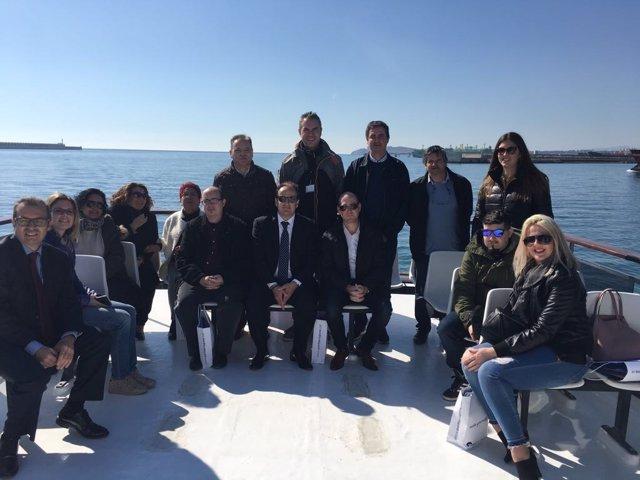 Forwarding Condal visita el Puerto de Tarragona