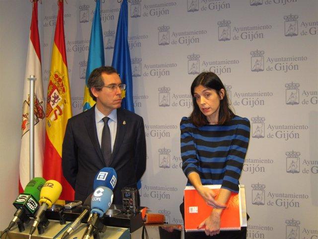 Fernando Couto y Ana Braña