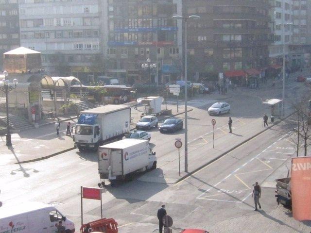 Tráfico, Vehículos En Santander