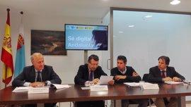 El Ayuntamiento de La Rinconada (Sevilla), Junta de Andalucía, EOI y Orange impulsan el desarrollo en economía digital