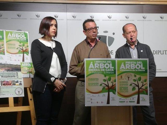 Presentación de la Fiesta del Árbol de Sierra de Gata