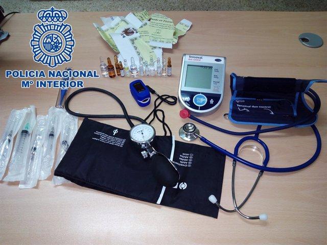 La Policía Nacional Detiene A Un Hombre En Jaén Que Se Hacía Pasar Por Médico En