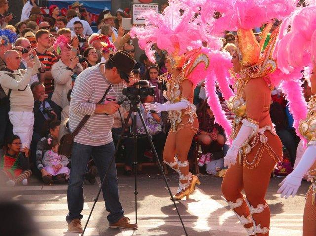 Grabación del Carnaval