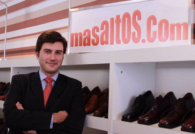 El director general de la empresa Masaltos.Com, Antonio Fagundo