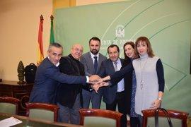 Junta, empresarios y sindicatos de Málaga presentan un plan para recuperar el empleo del sector industrial