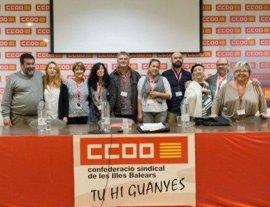 Isabel Bernardo, nueva secretaria general de FSS-CCOO en Baleares
