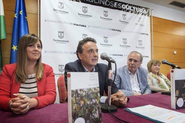 Alcalde de torremolinos josé ortiz libro premio literario novela 2017