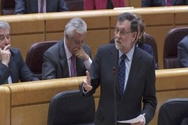 """Rajoy recrimina a ERC que hable de """"conspiraciones"""" contra independentistas"""