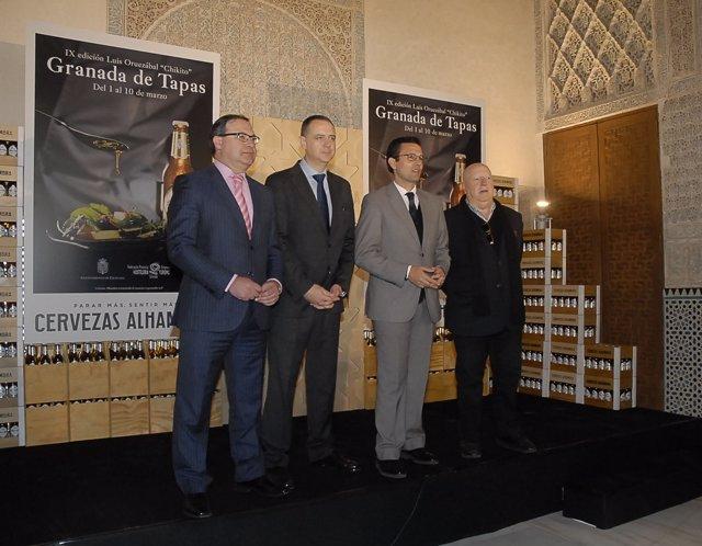 Presentación de la novena edición de 'Granada de tapas'