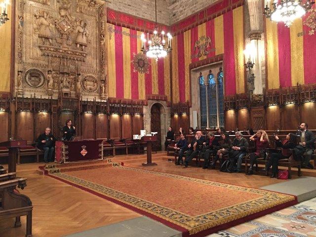 Ada Colau entrega el Premio Barcelona a la Empresa Innovadora en Concilicación