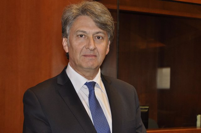 El director general de Industria de Aragón, Fernando Fernández Cuello.