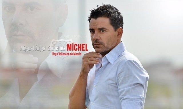 Miguel Ángel Sánchez, 'Míchel', nuevo entrenador del Rayo