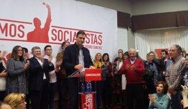"""Pedro Sánchez llega este miércoles a Melilla para representar """"ilusión"""" y """"cambio"""""""